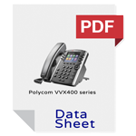 Polycom VVX 400 series data sheet media 9